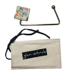 New Passport Stamps Metal Purse Handbag Hanger